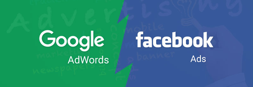 Google AdWords vs. Facebook Costs